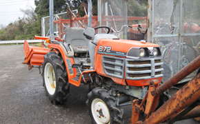 Japanese used second hand tractors kubota yanmar farming agricultural machinery equipment export