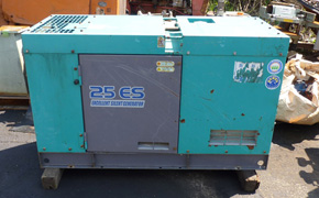 used second hand japanese construction machinery equipment diesel electric generators supplier