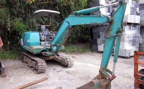 used second hand japanese construction machinery equipment excavators supplier export