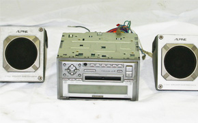 used second hand japanese electronics car audio system